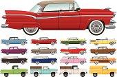 1950s Era Car Lineup