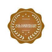 25th anniversary stamp illustration