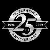 25th Anniversary Symbol