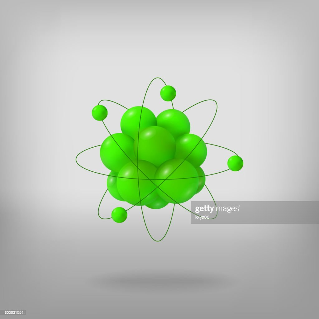 3d abstract atom structure vector art getty images 3d abstract atom structure vector art ccuart Images