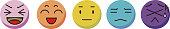 3d Facial expression icon