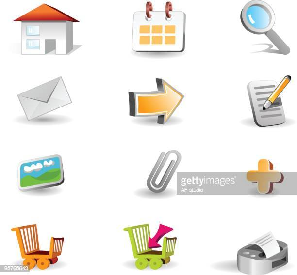 3d Icon set || website and internet icons