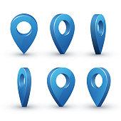 3d map pointer set