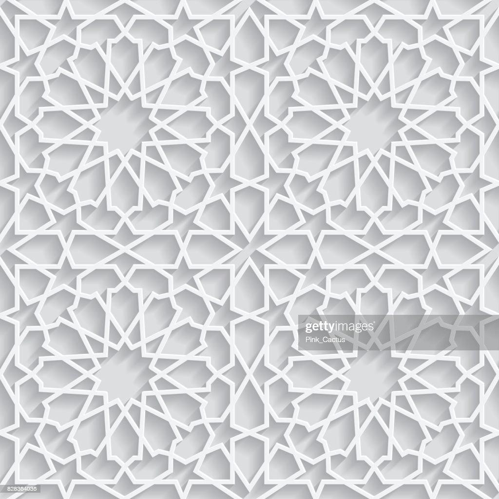3d Moroccan Pattern