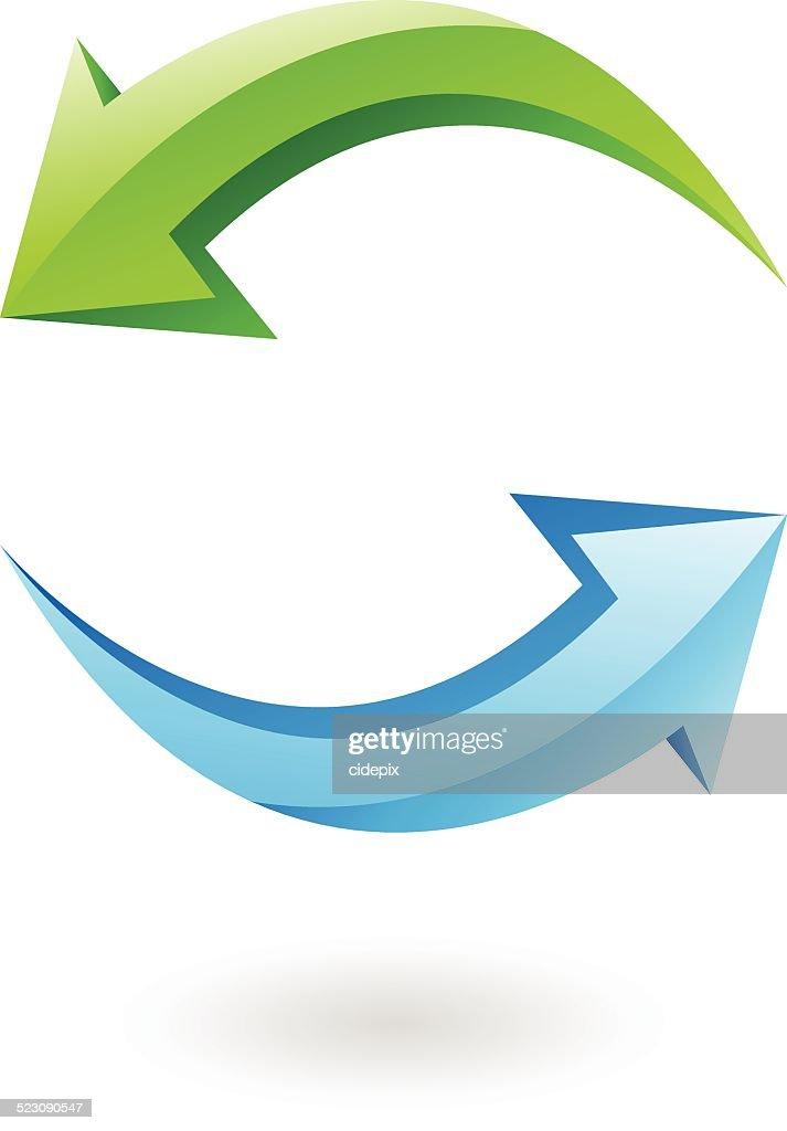 3d refresh icon