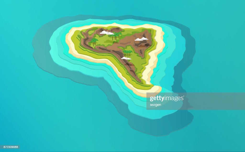Map Of America 3d Vector.3d Vector South American Map Stock Illustration Getty Images