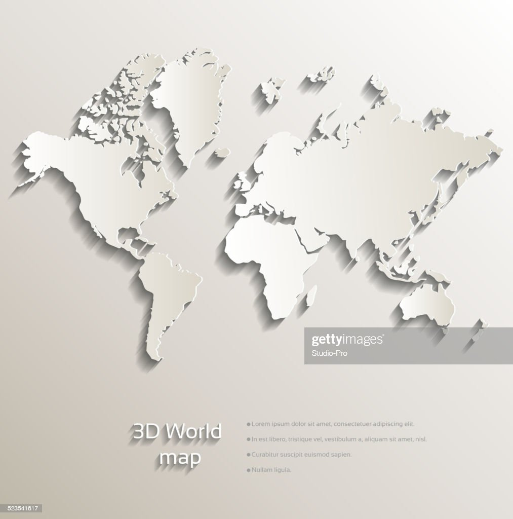 3d Map of Africa Vector Download 1000 Vectors Page 1