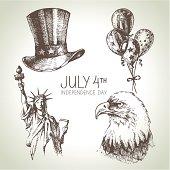 4th of July set