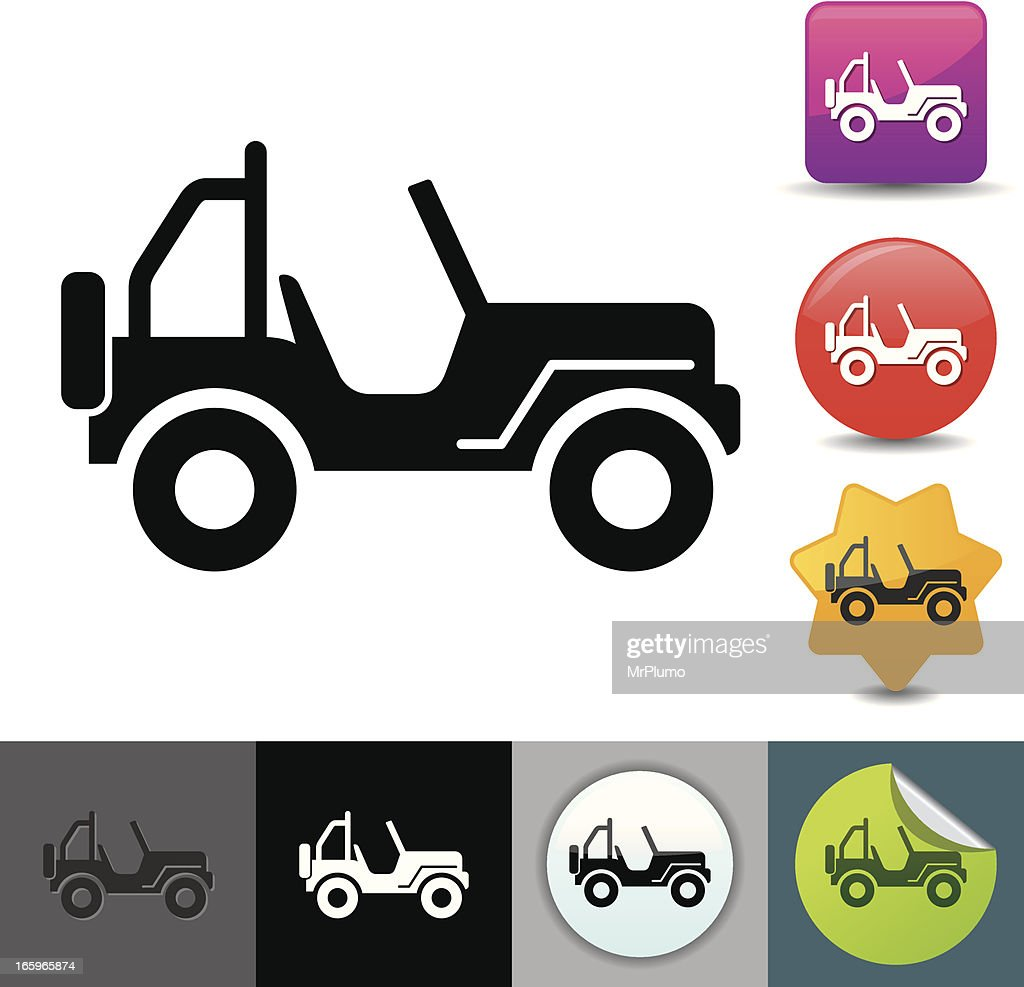 4x4 icon | solicosi series