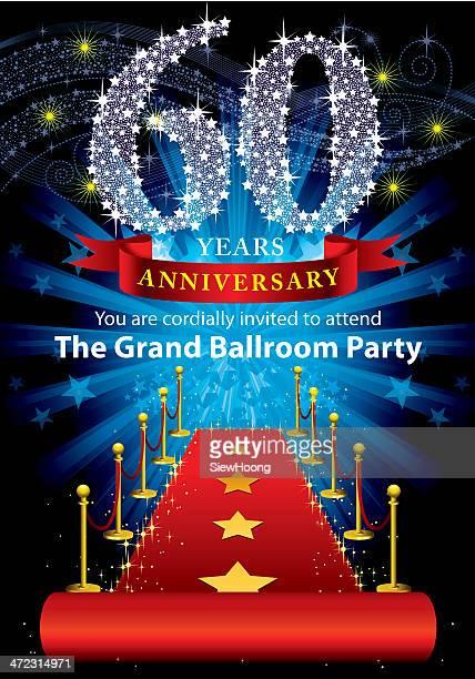60. Geburtstag Party