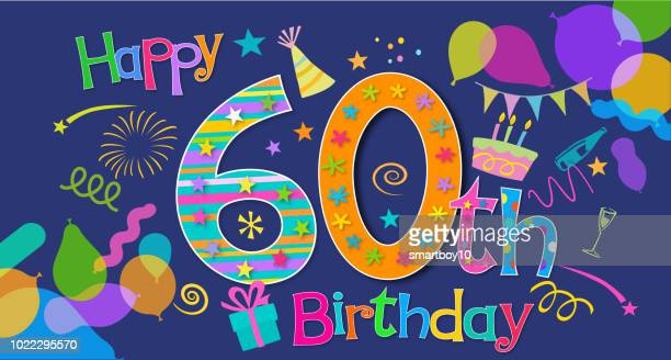 60th Birthday Greeting