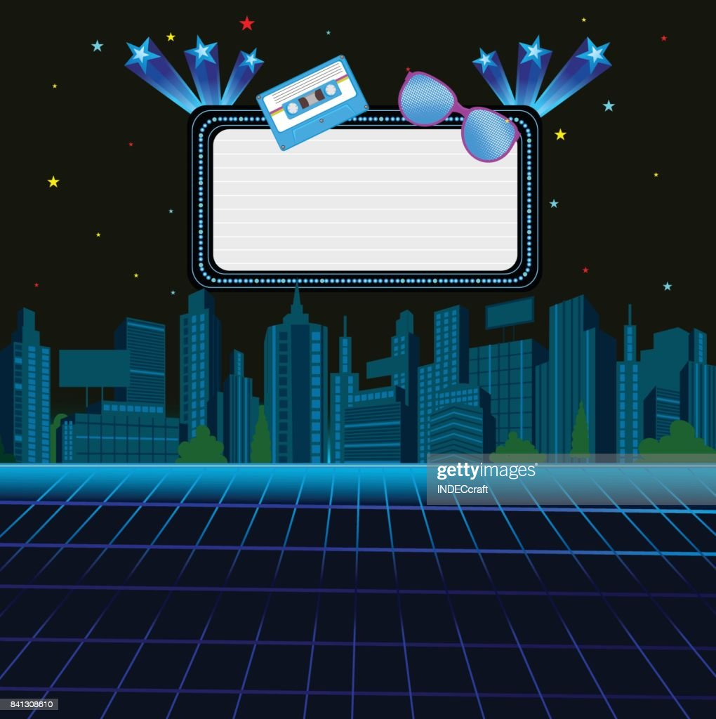 80s Background stock illustration - Getty Images