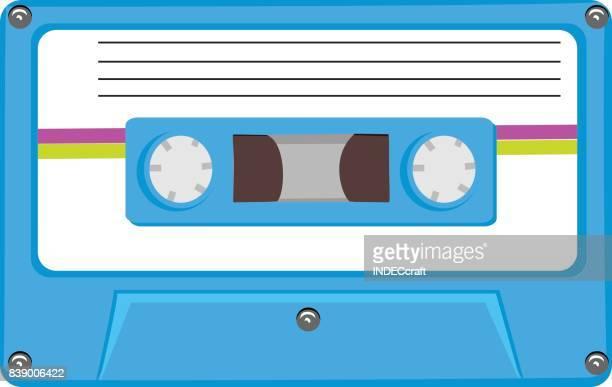 de los años 80 un Cassete