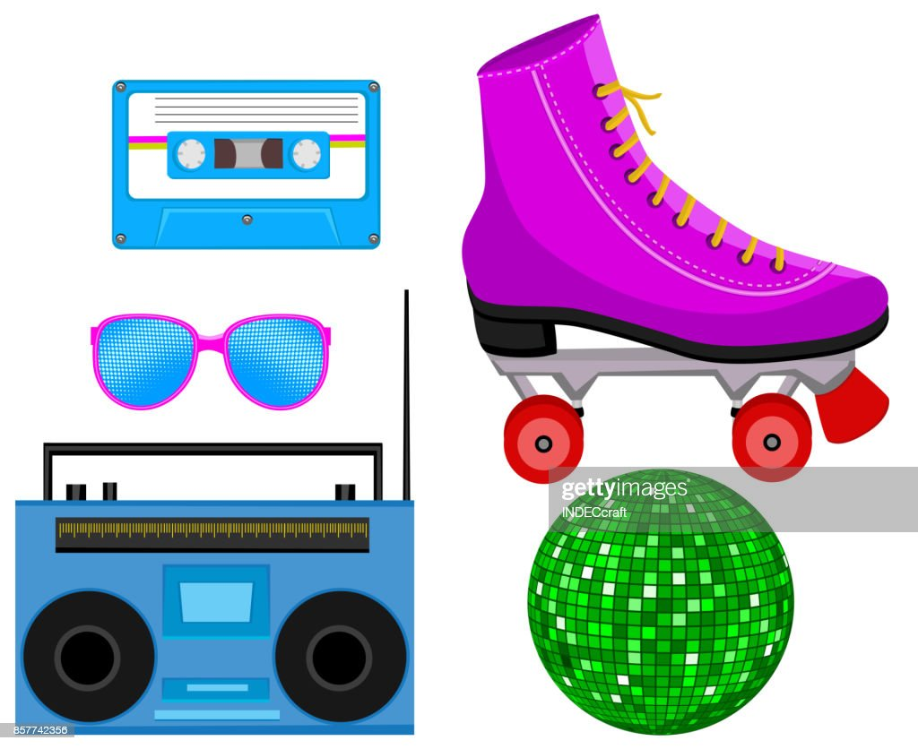 80s Party Icons
