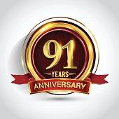 91st golden anniversary