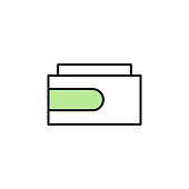 a tube of cream outline icon. Element of colored spa icon for mobile concept and web apps. Thin line a tube of cream outline icon can be used for web and mobile