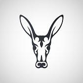 Aardvark symbol icon design, vector illustration