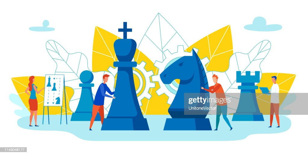 Ability to Motivate Employees Vector Cartoon. : stock illustration