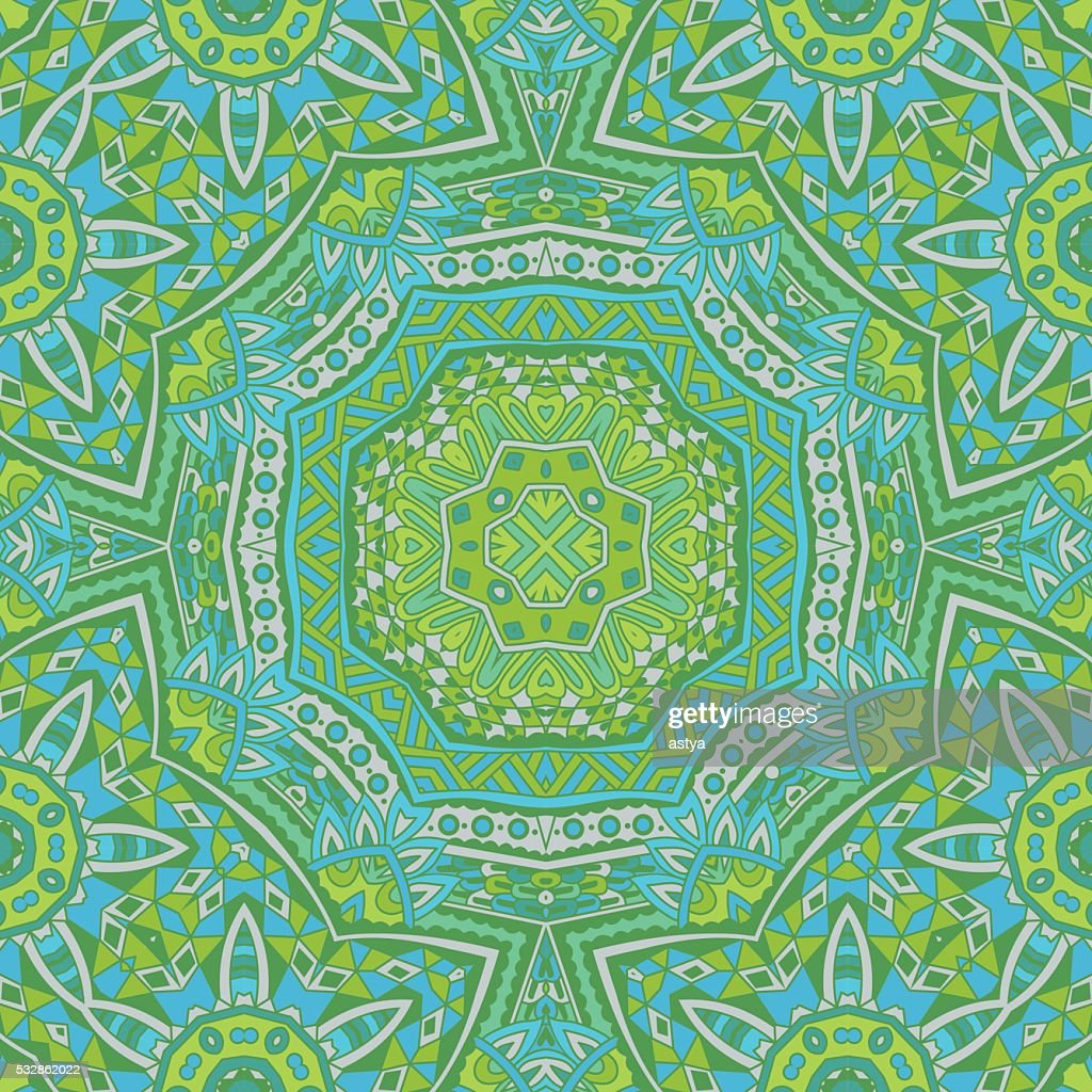 abstact green seamless  Geometric print