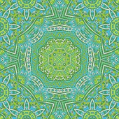abstact green seamless  Geometric print