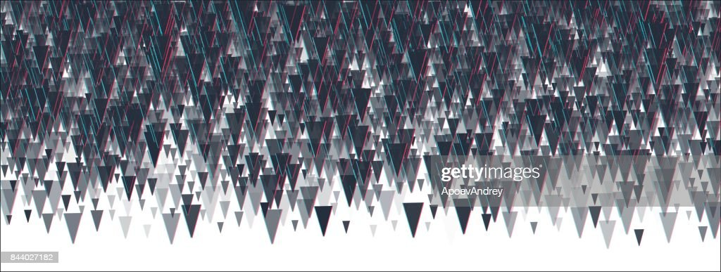 Abstrackt triangle background.