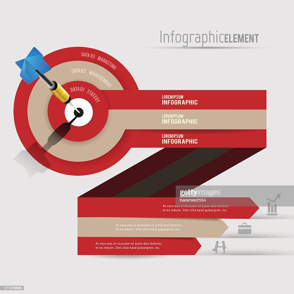 Abstract 3D Modern template vector  banner infographics.Business Concept