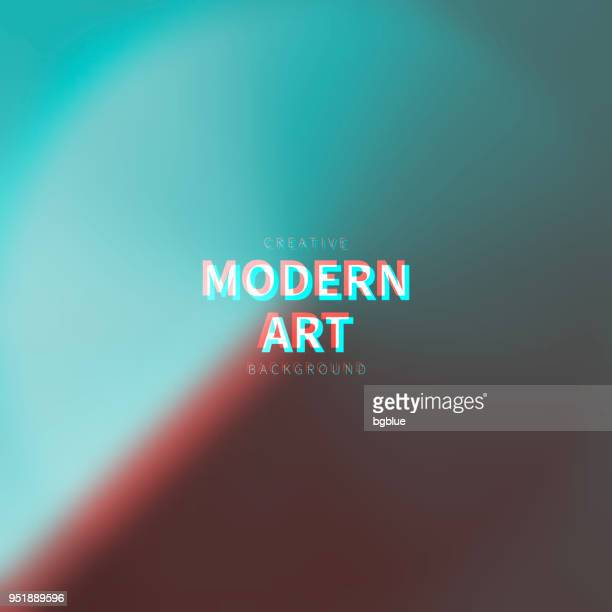 abstract and colorful blurred design - trendy background - problems stock illustrations