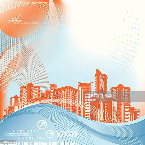 abstract architecture background - generic description stock illustrations, clip art, cartoons, & icons