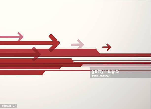Abstract arrows fondo