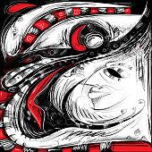 Abstract Art, The Eye (Vector)