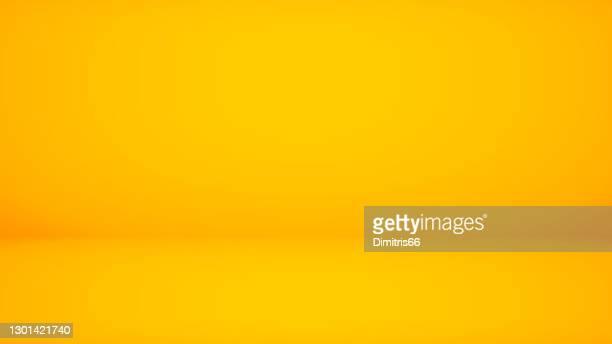 stockillustraties, clipart, cartoons en iconen met abstracte achtergrond gele achtergrond. minimale lege ruimte met zacht licht - gele achtergrond
