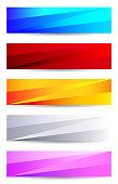 Abstract Background Banner Flyer Letterhead Design