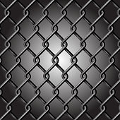 Abstract Background - Chain Fence