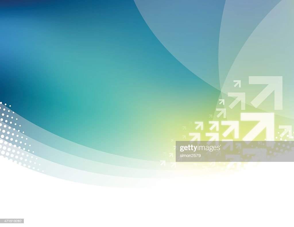 Abstract background design with arrows