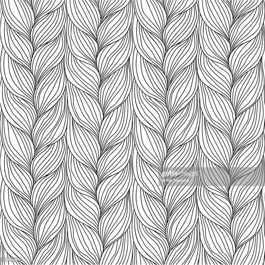 Abstract background doodle pattern