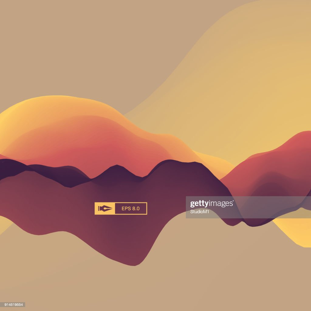 3D Abstract Background. Dynamic Effect. Futuristic Technology Style. Motion Vector Illustration.