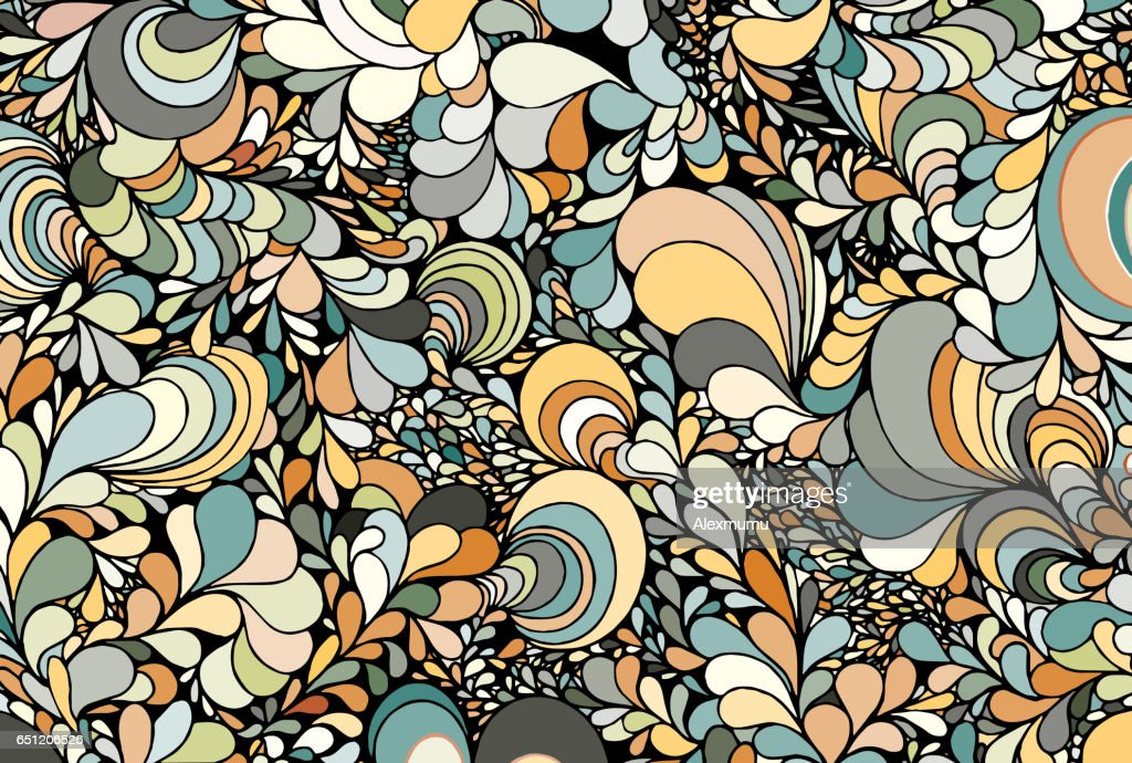 Abstract background from multi-colored figures.Vector