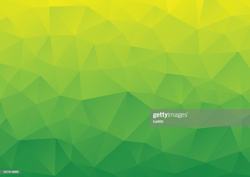 Abstract Background, Geometric, Green