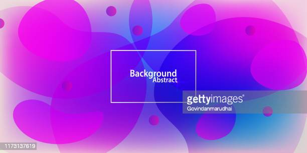 abstract background multi colored - fractal stock illustrations