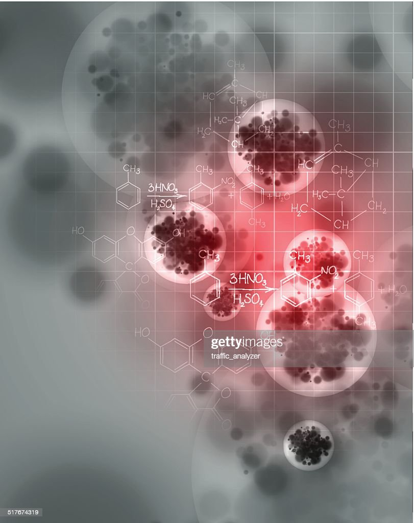 Abstract background of a virus : stock illustration
