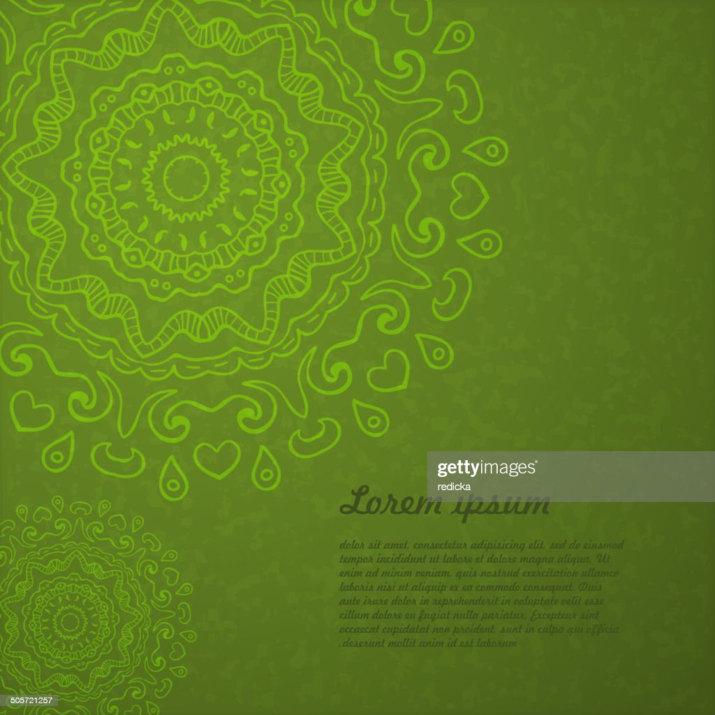 Abstract background of circular elements