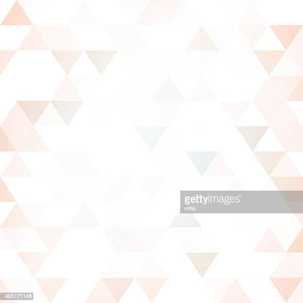 Abstract background of triangular tesselations