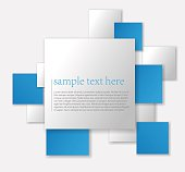 Abstract background paper design