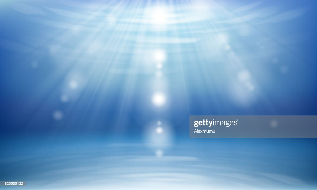 Abstract background simulating the atmosphere under water