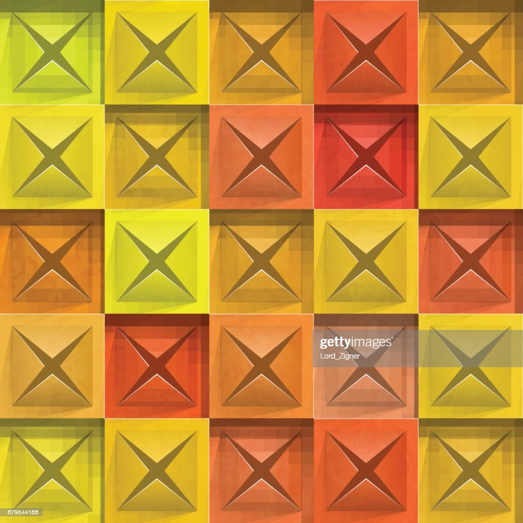 Abstract background stone squares. Vector Illustration