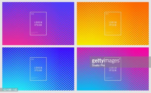 illustrazioni stock, clip art, cartoni animati e icone di tendenza di sfondo astratto - colore fluorescente