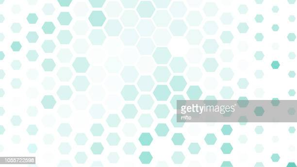 abstract background - hexagon stock illustrations