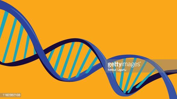 dna abstract background - genetic modification stock illustrations