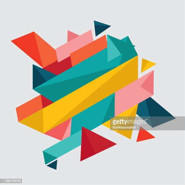 abstract background - multi coloured stock illustrations