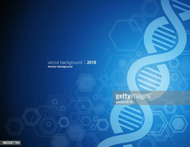 dna abstract background - genetic research stock illustrations